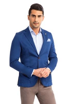 Erkek Giyim - Açık Mavi 46 Beden Spor Ceket