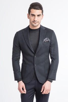 Erkek Giyim - Füme Gri 50 Beden Blazer Ceket