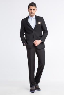 Erkek Giyim - Siyah 50 Beden Mono Yaka Smokin / Damatlık