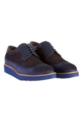 Erkek Giyim - Lacivert 43 Beden Eva Taban Nubuk Deri Ayakkabı