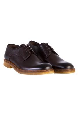 Erkek Giyim - Kahve 40 Beden Casual Bağcıklı Deri Ayakkabı