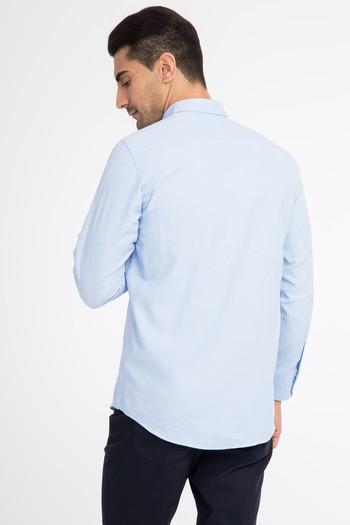 Erkek Giyim - Uzun Kol Oxford Gömlek