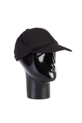 Erkek Giyim - Siyah STD Beden Şapka Parçalı
