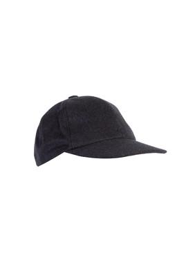 Erkek Giyim - Antrasit STD Beden Şapka Parçalı