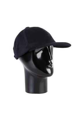 Erkek Giyim - Lacivert STD Beden Şapka Parçalı