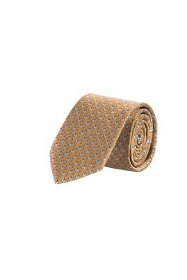 Erkek Giyim - Turuncu  Beden Desenli Kravat