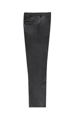 Erkek Giyim - Füme Gri 56 Beden Flanel Pantolon