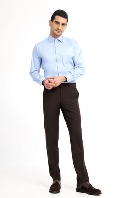 Erkek Giyim - KOYU KAHVE 46 Beden Klasik Pantolon