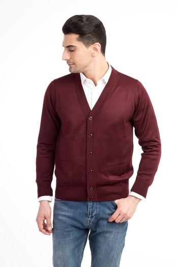 Erkek Giyim - Klasik Slim Fit Hırka