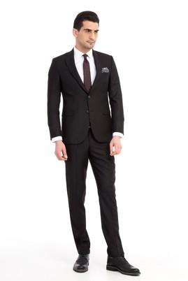 Erkek Giyim - Siyah 44 Beden Slim Fit Takım Elbise