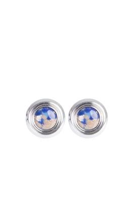 Erkek Giyim - Açık Mavi STD Beden Safir Desenli Kol Düğmesi