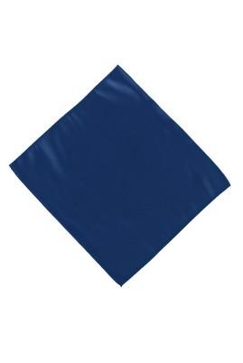 Erkek Giyim - Mavi STD Beden Düz Saten Mendil