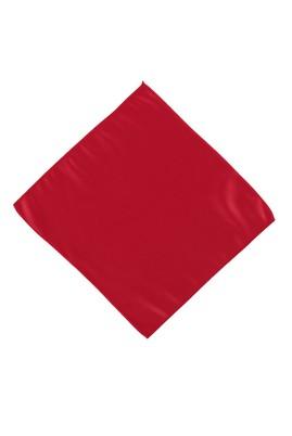 Erkek Giyim - Kırmızı STD Beden Düz Saten Mendil