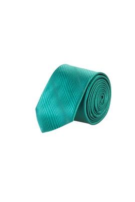 Erkek Giyim - KOYU YESİL 165 Beden Düz İnce Kravat