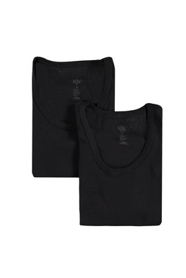 Erkek Giyim - Siyah 3X Beden 2'li Sporcu Atlet