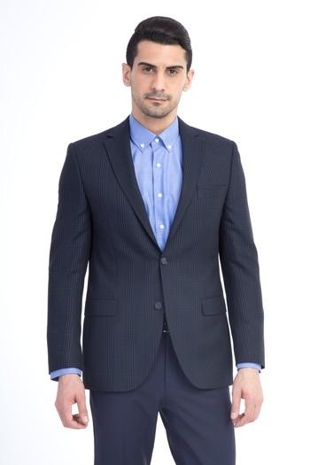 Erkek Giyim - Bambu Ekose Ceket