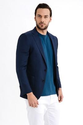 Erkek Giyim - Lacivert 54 Beden Kuşgözü Ceket