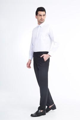 Erkek Giyim - Antrasit 48 Beden Klasik Pantolon