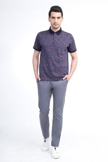Erkek Giyim - Slim Fit Saten Spor Pantolon