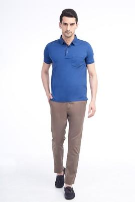 Erkek Giyim - VİZON 50 Beden Saten Spor Pantolon