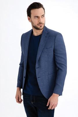 Erkek Giyim - Mavi 50 Beden İtalyan Kuşgözü Ceket