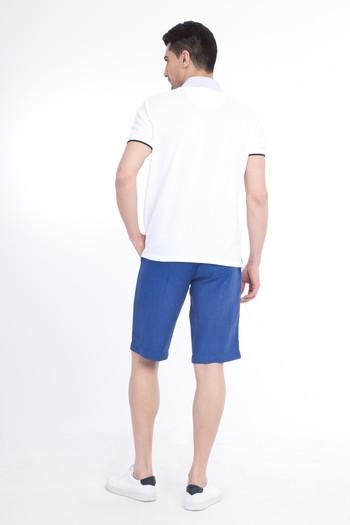 Erkek Giyim - Keten Bermuda Şort