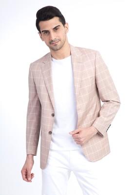 Erkek Giyim - MELON 46 Beden Ekose Klasik Ceket