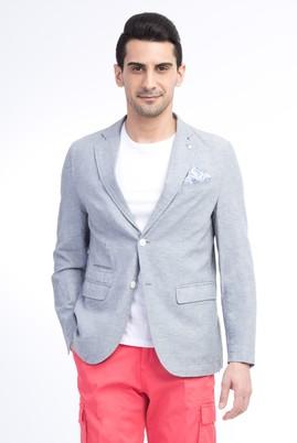 Erkek Giyim - Orta füme 46 Beden Astarsız Spor Ceket