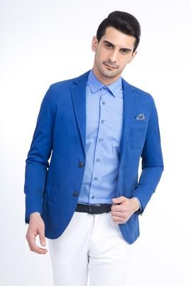 Erkek Giyim - KOYU MAVİ 46 Beden Spor Dokuma Ceket