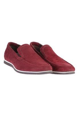 Erkek Giyim - Bordo 44 Beden Süet Ayakkabı