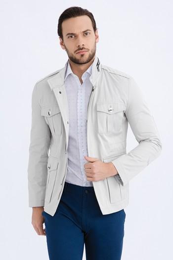 Erkek Giyim - Mevsimlik Bonded Mont