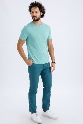 Erkek Giyim - Petrol 52 Beden Spor Pantolon