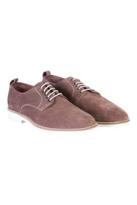 Erkek Giyim - VİZON 42 Beden Eva Taban Bağcıklı Casual Ayakkabı