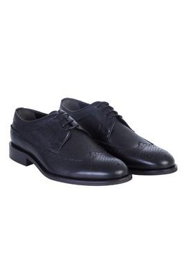 Erkek Giyim - Siyah 44 Beden Bağcıklı Klasik Ayakkabı