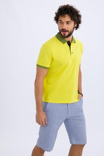 Erkek Giyim - Ekose Bermuda Şort