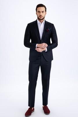 Erkek Giyim - Siyah 50 Beden Klasik Pantolon