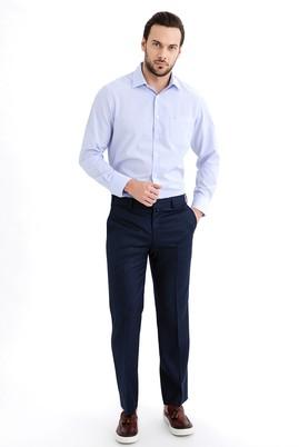 Erkek Giyim - KOYU MAVİ 46 Beden Slim Fit Pantolon