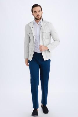 Erkek Giyim - Açık Mavi 50 Beden Slim Fit Spor Pantolon