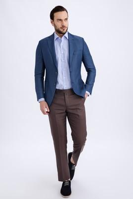 Erkek Giyim - KOYU KAHVE 54 Beden Slim Fit Pantolon