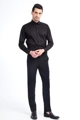 Erkek Giyim - Siyah 48 Beden Klasik Pantolon