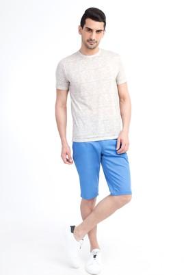 Erkek Giyim - Açık Mavi 52 Beden Spor Bermuda Şort