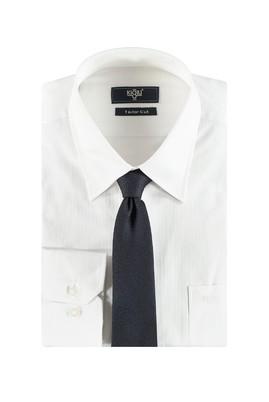 Erkek Giyim - Lacivert L Beden Gömlek Kravat Seti