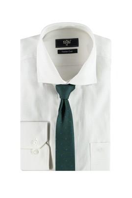 Erkek Giyim - KOYU YESİL M Beden Gömlek Kravat Seti