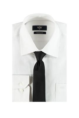 Erkek Giyim - Siyah S Beden Gömlek Kravat Seti