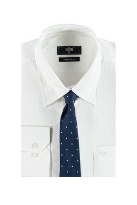 Erkek Giyim - Lacivert XL Beden Gömlek Kravat Seti