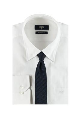 Erkek Giyim - Lacivert M Beden Gömlek Kravat Seti