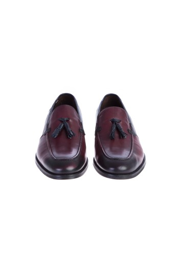Erkek Giyim - Casual Püsküllü Deri Ayakkabı