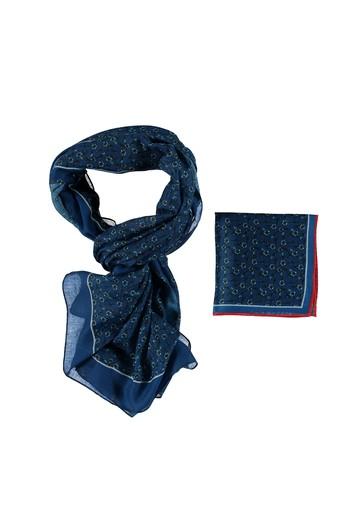 Erkek Giyim - Fular Mendil Set