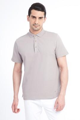 Erkek Giyim - VİZON XXL Beden Regular Fit Polo Yaka Tişört