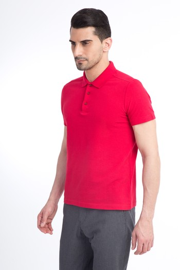 Polo Yaka Slim Fit Tişört